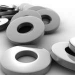 Metal Washers PowerPoint Background 11